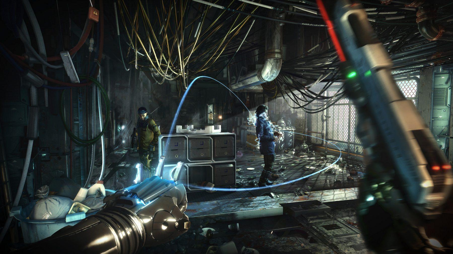 Deus Ex: Mankind Divided bolt