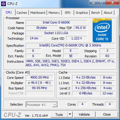 4900 mhz on water