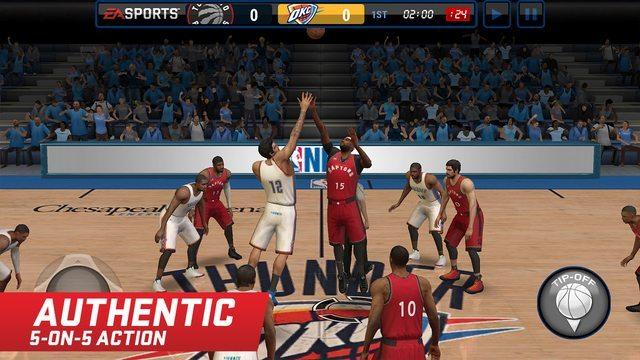 NBA LIVE Mobile ios