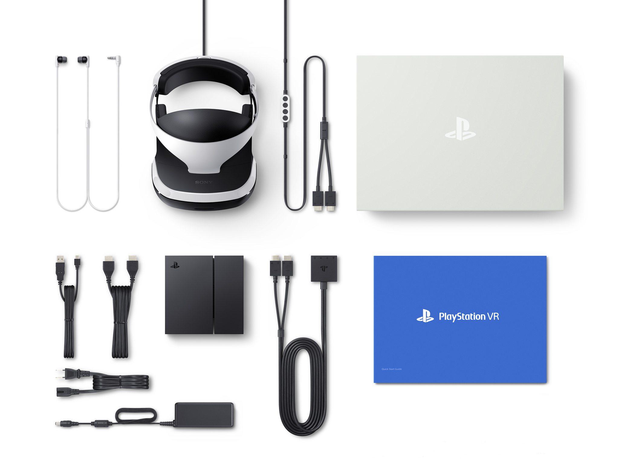 комплектация PS VR