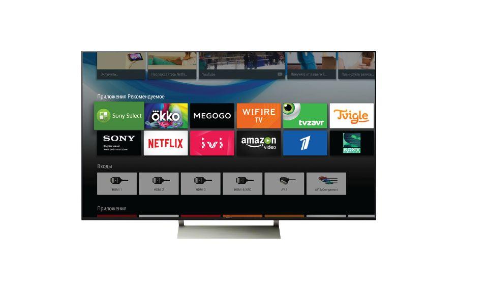 Android TV content menu