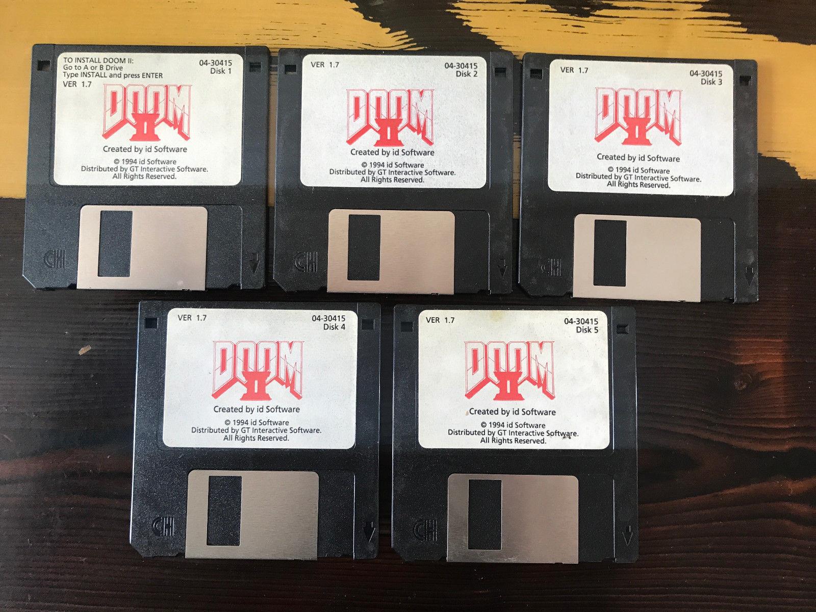 DOOM-2-disks