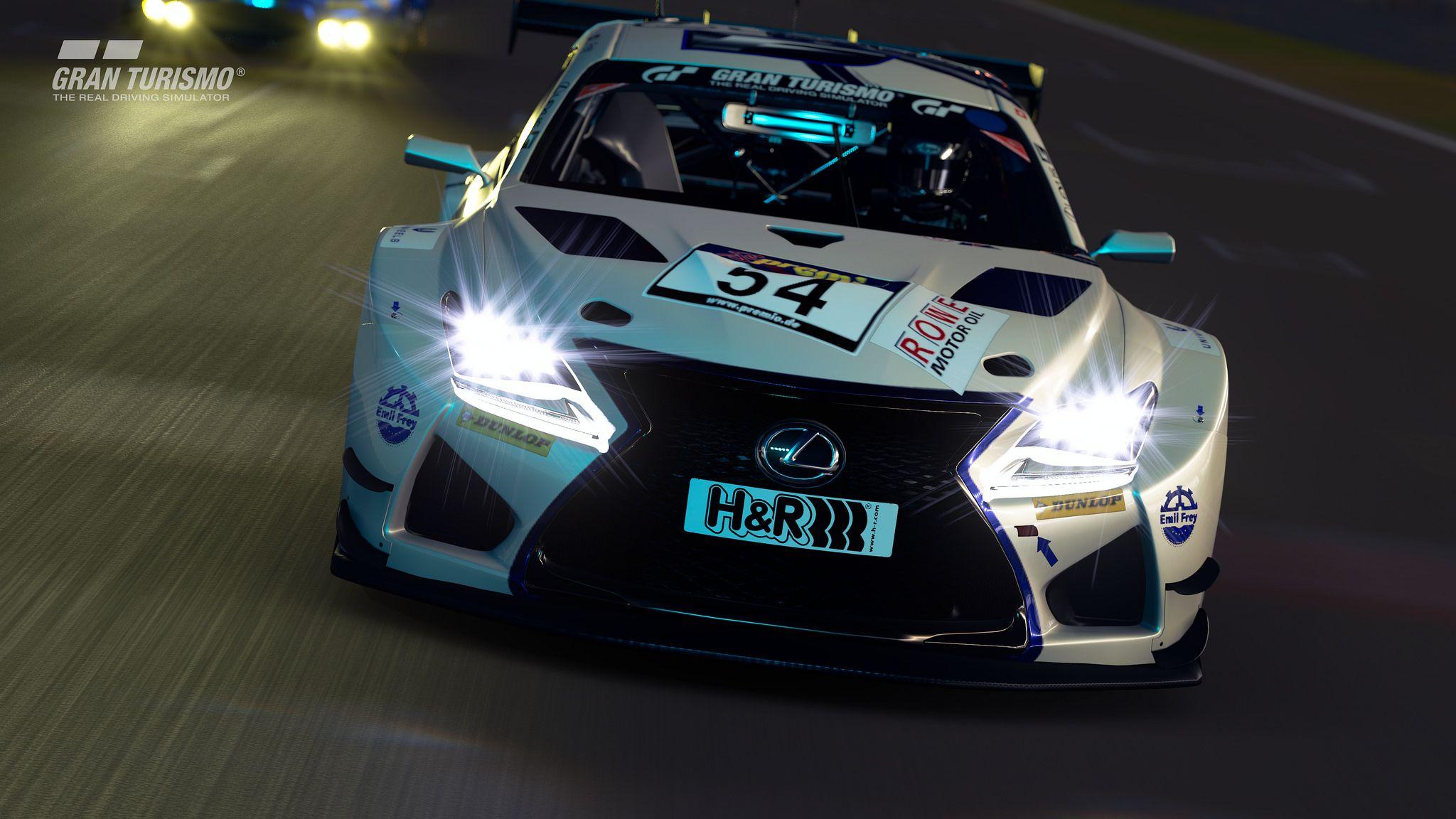 Lexus RC F GT3 prototype