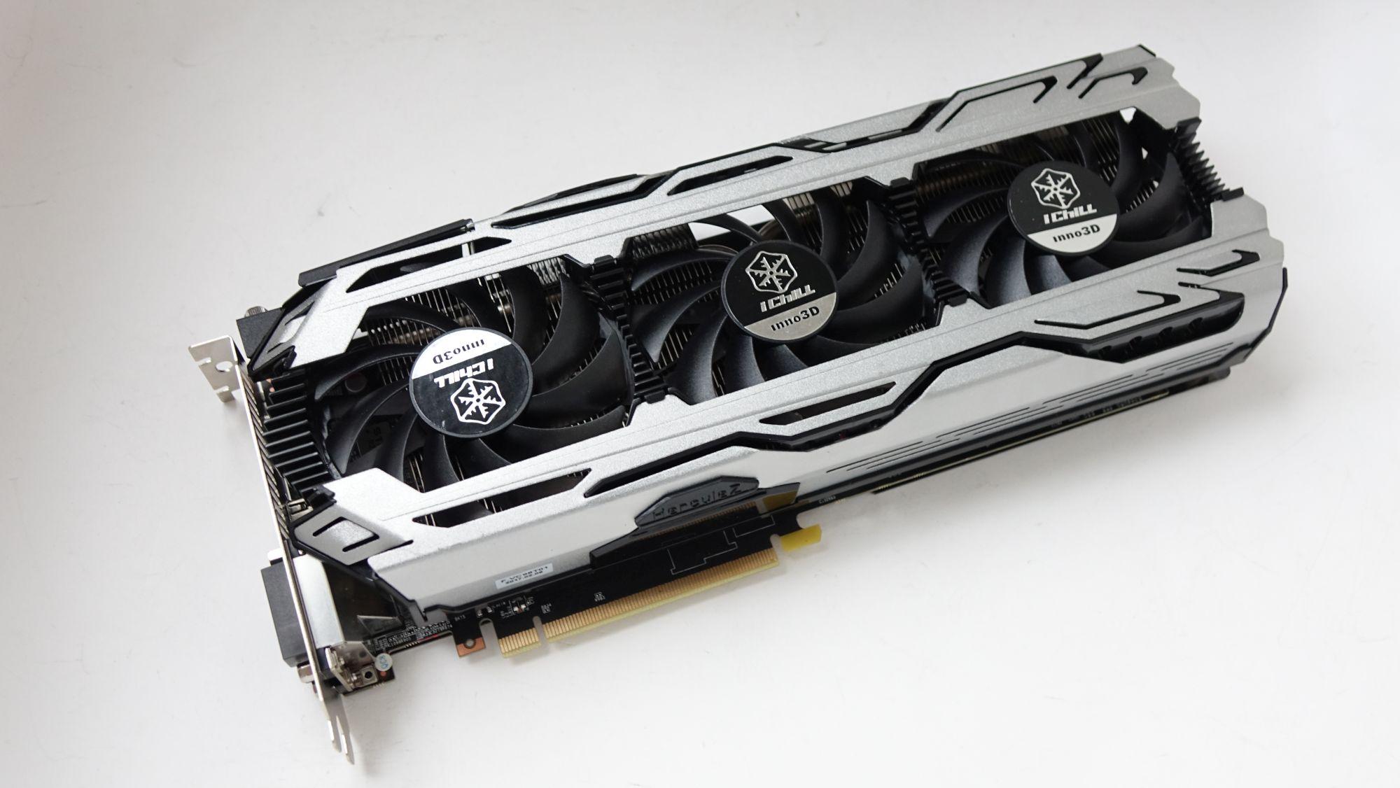 Inno3D iChill GeForce GTX 1060 6GB X3 V2 fans