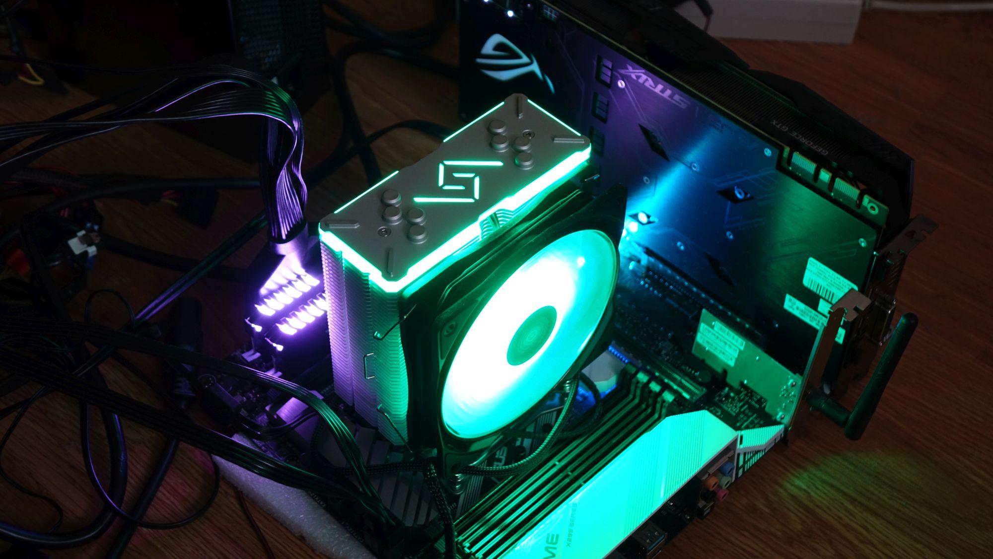 Deepcool GAMMAXX GT зеленый