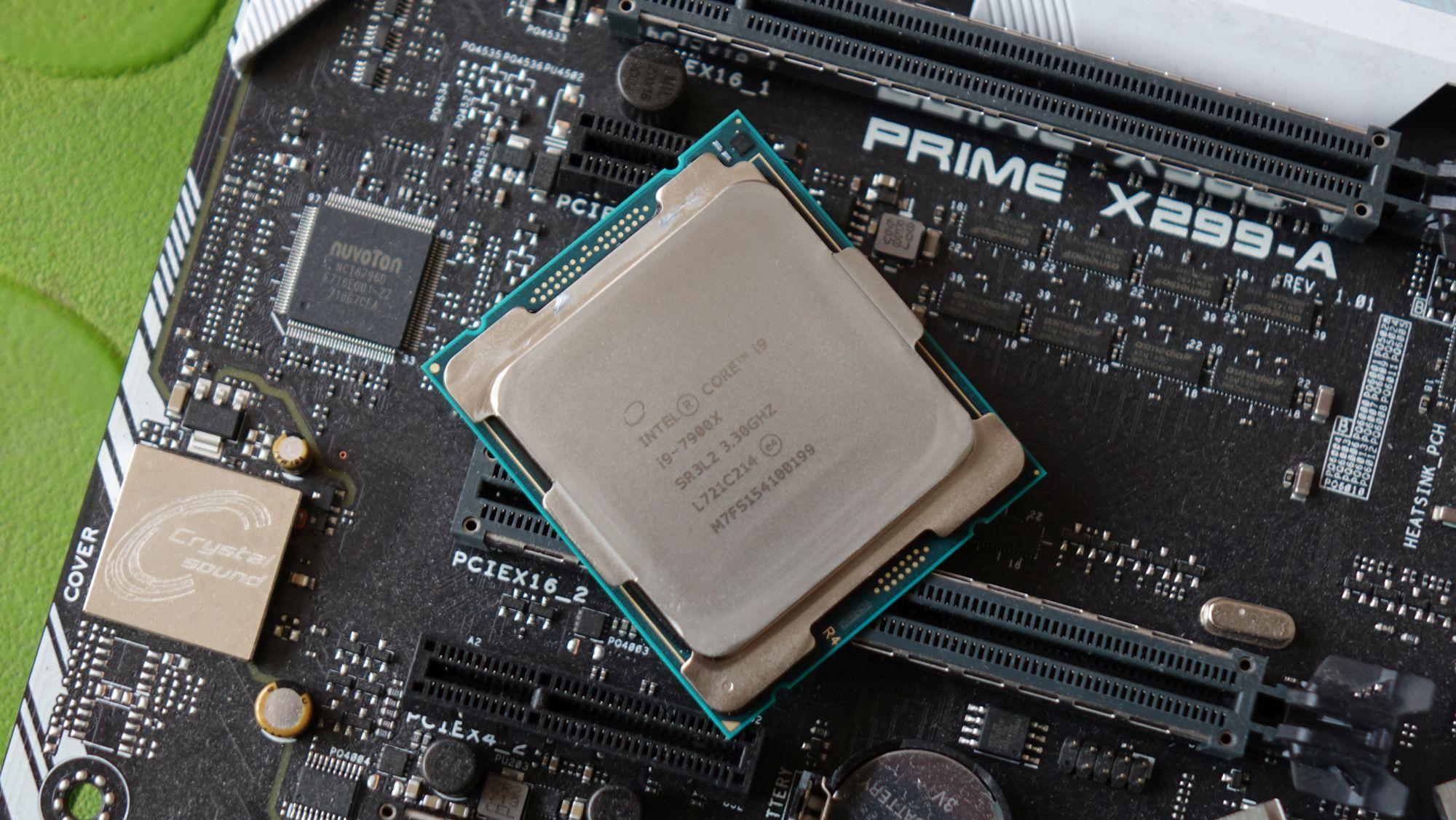 Intel Core i9-7900X крышка