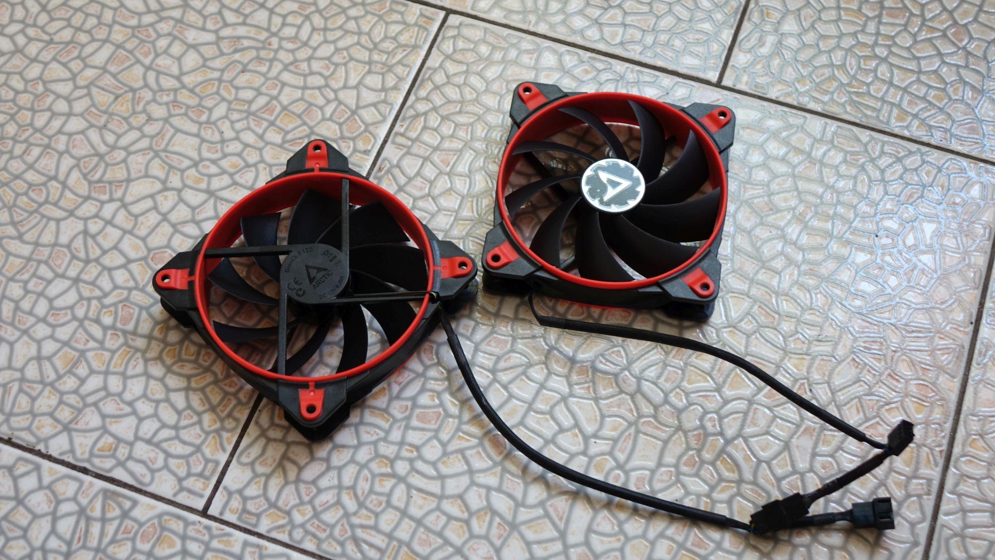 Arctic Freezer 33 eSports Edition вентиляторы