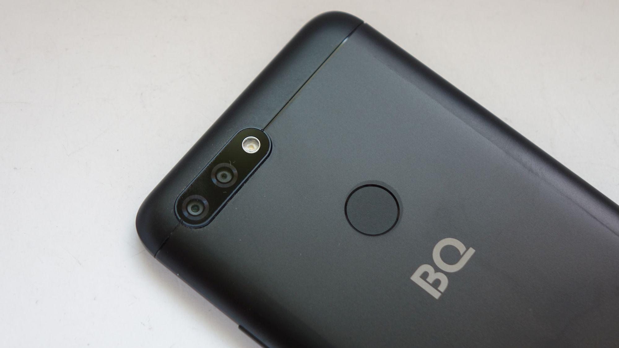 BQ Aurora сенсор отпечатка