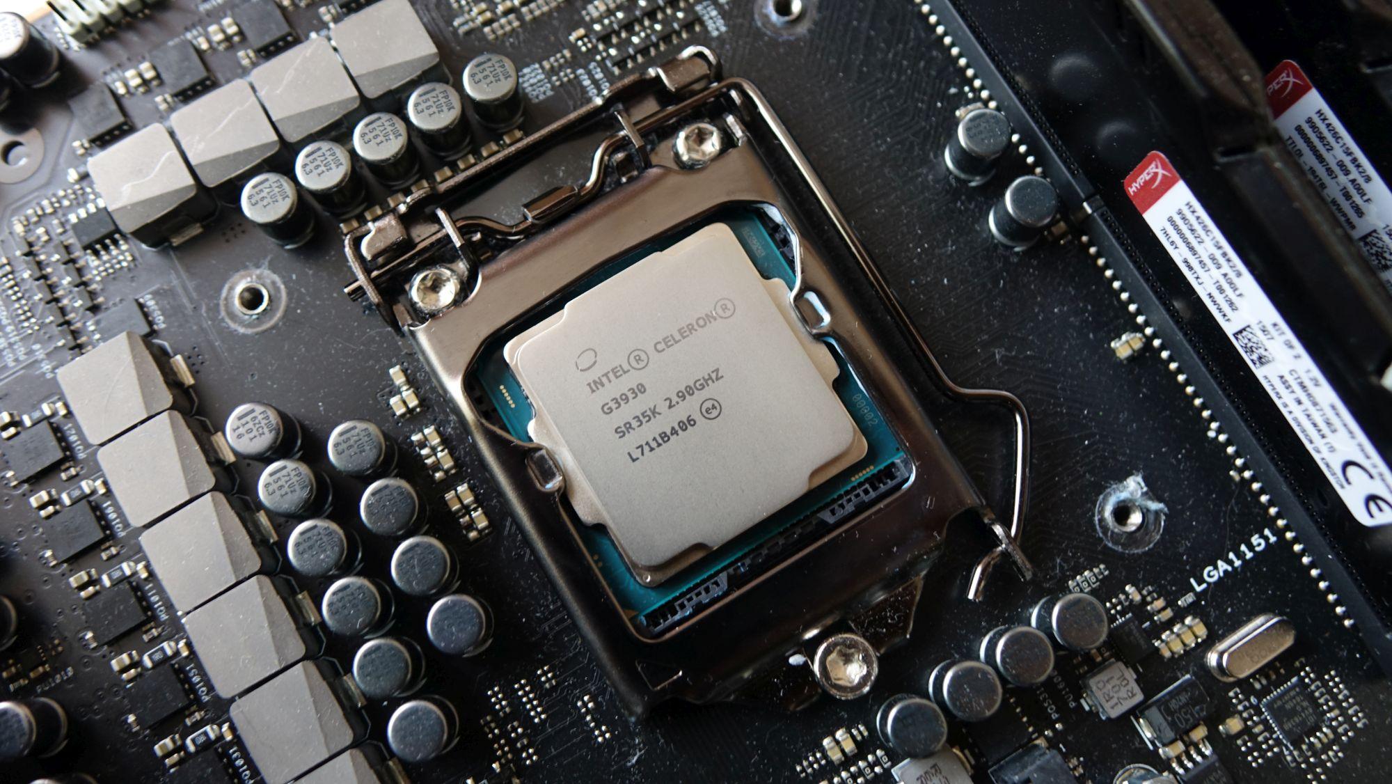 Intel Celeron G3930 в сокете
