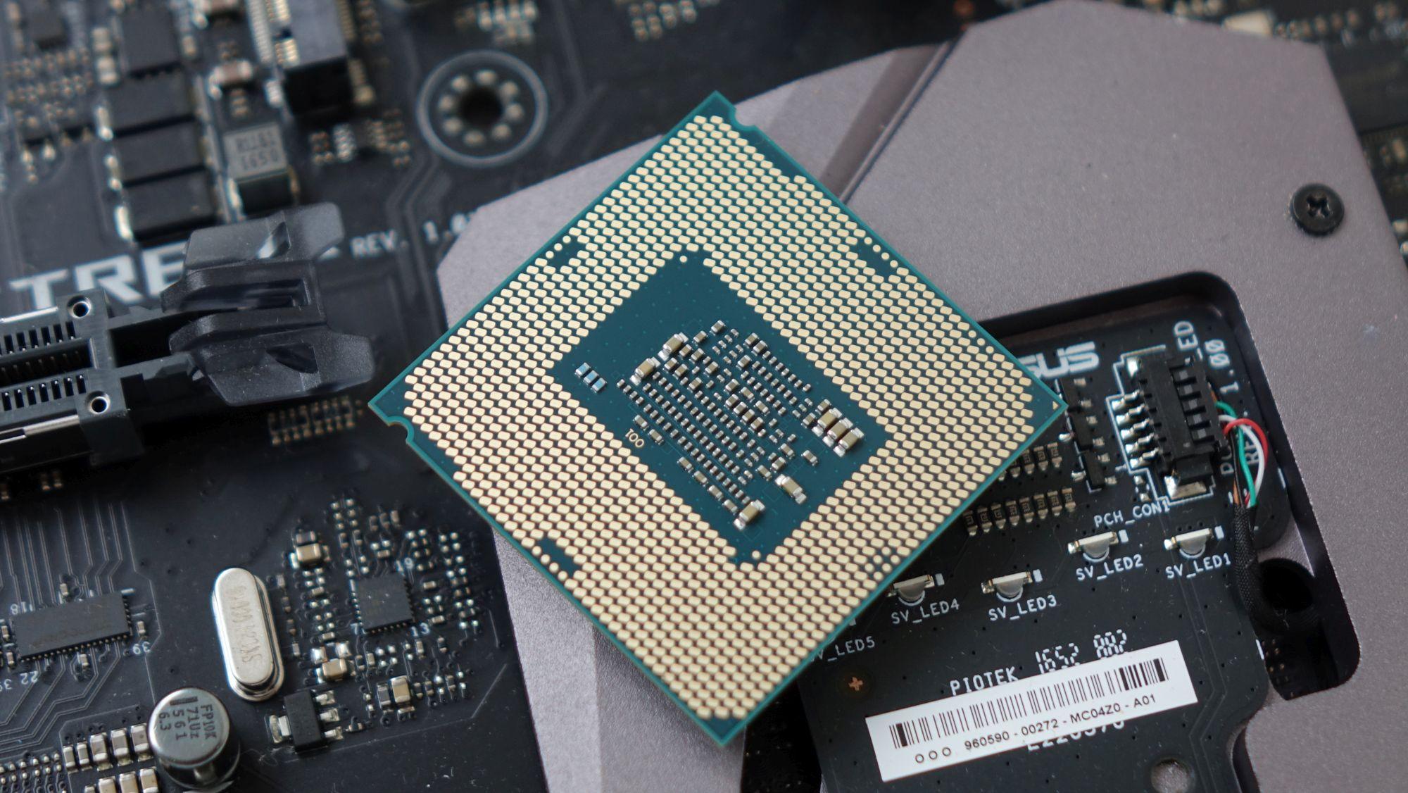 Intel Core i3-7100 контакты