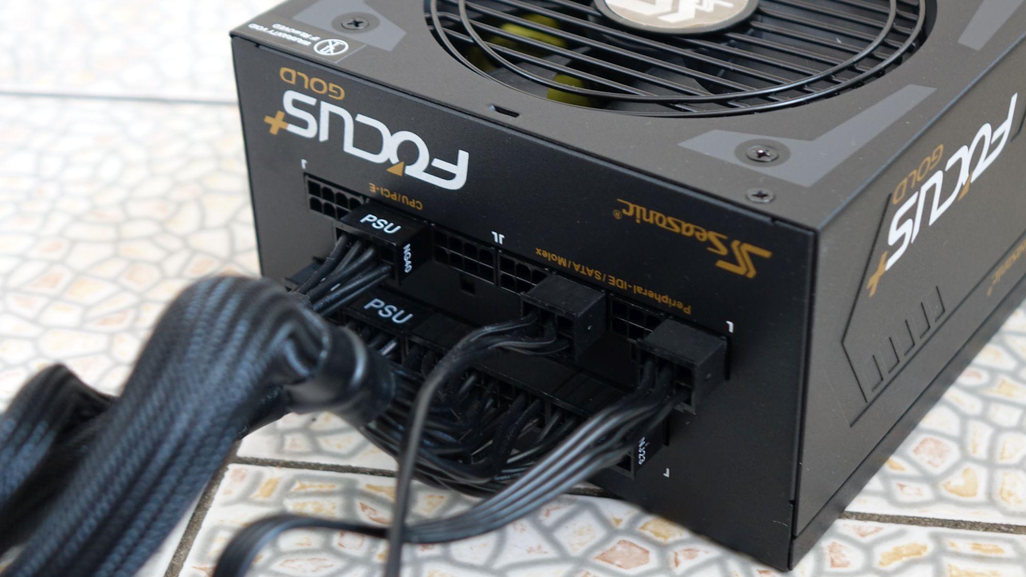 Seasonic Focus Plus Gold SSR-650FX подключение