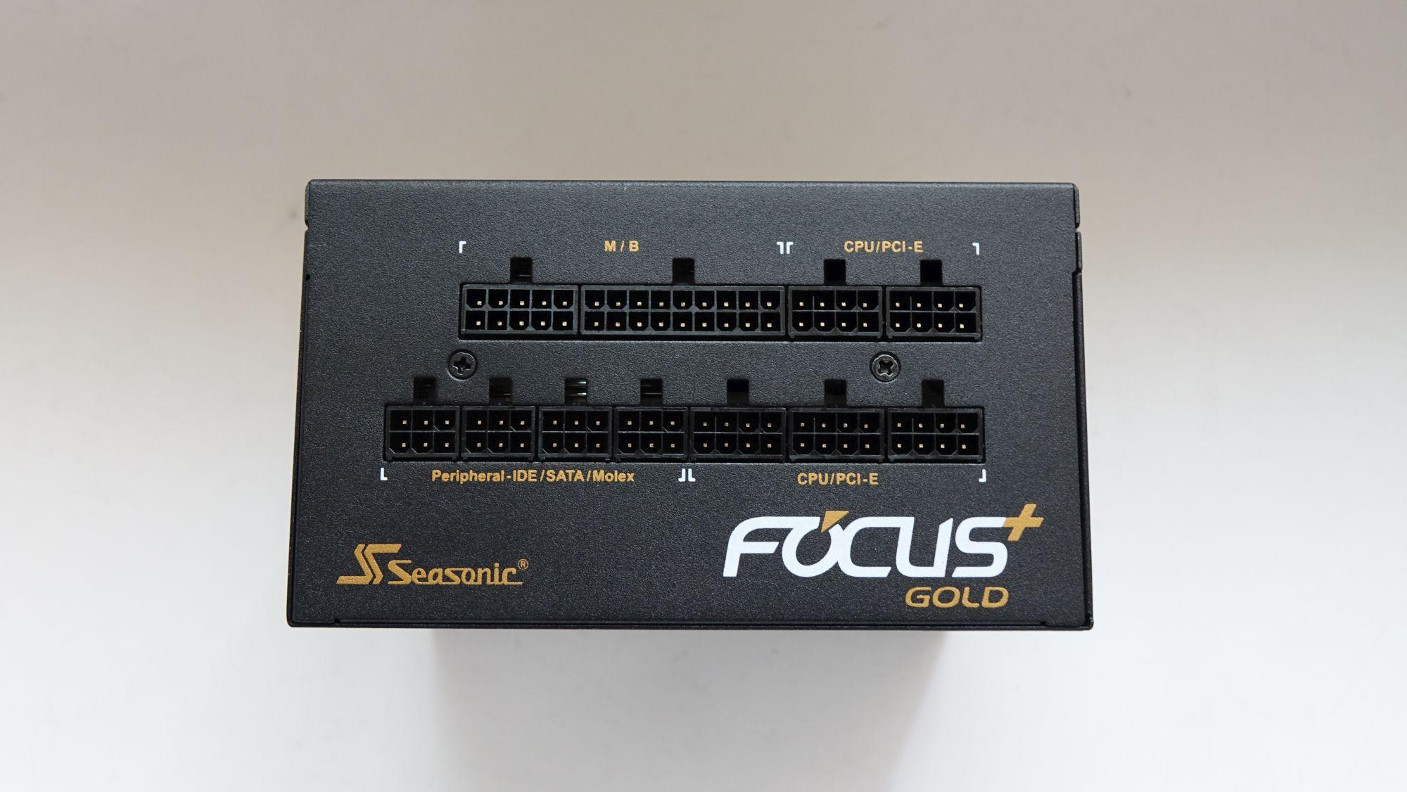 Seasonic Focus Plus Gold SSR-650FX разъемы
