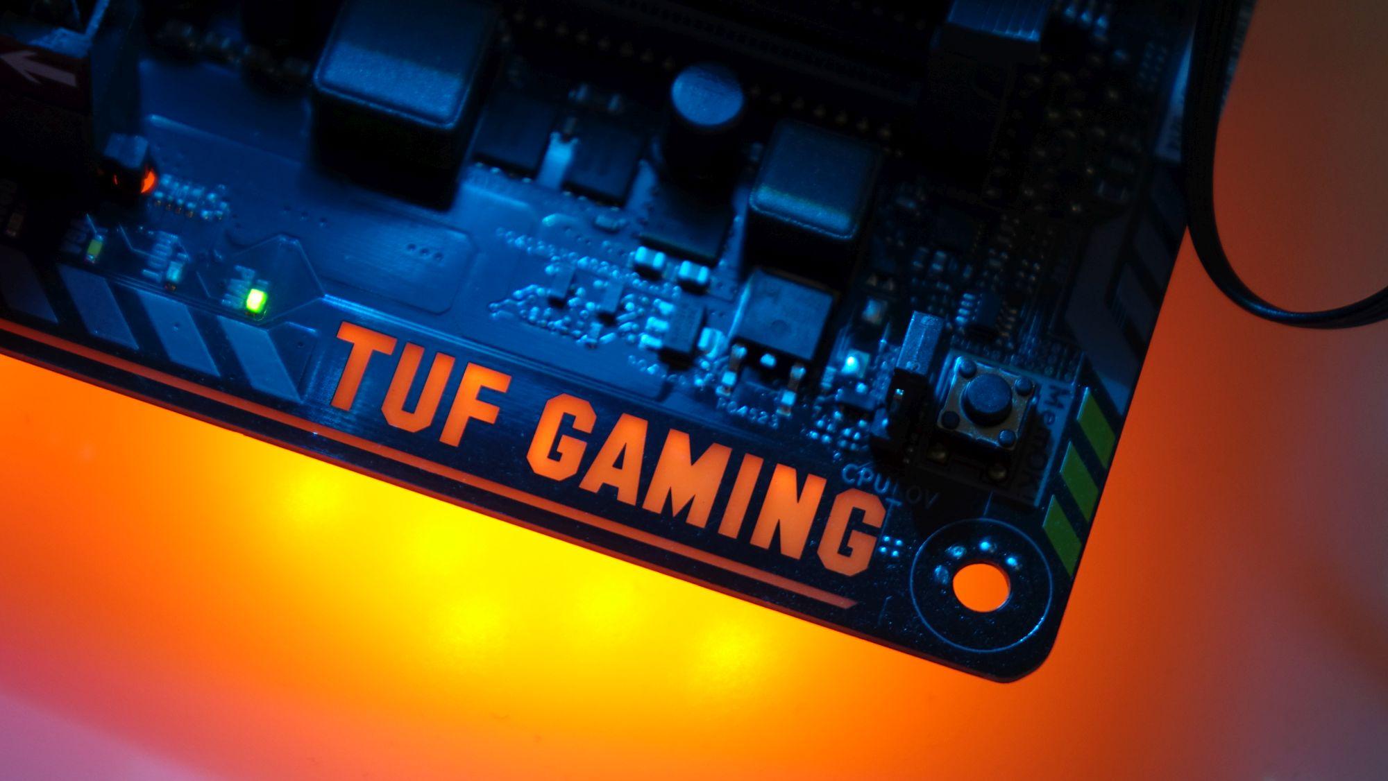 ASUS TUF Z370-Pro Gaming подсветка