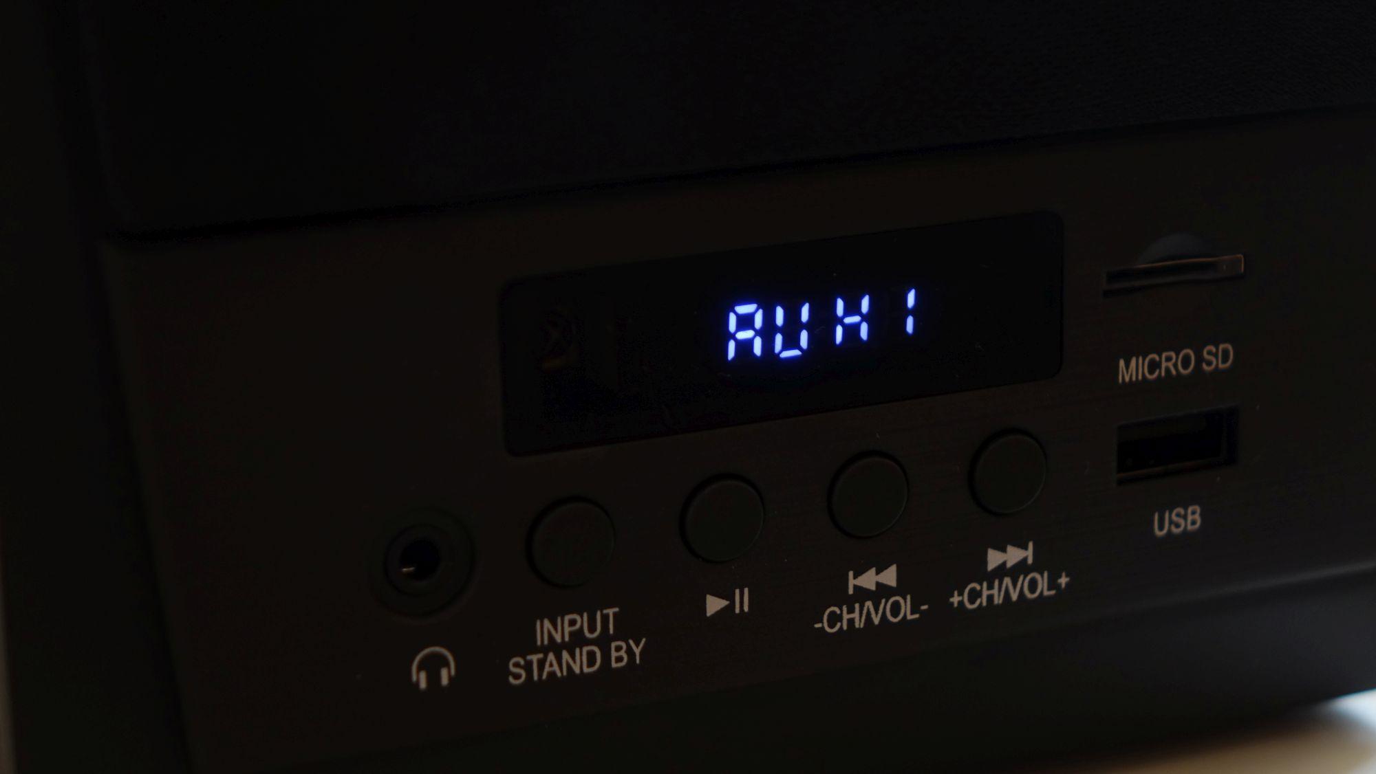 SVEN MC-10 дисплей