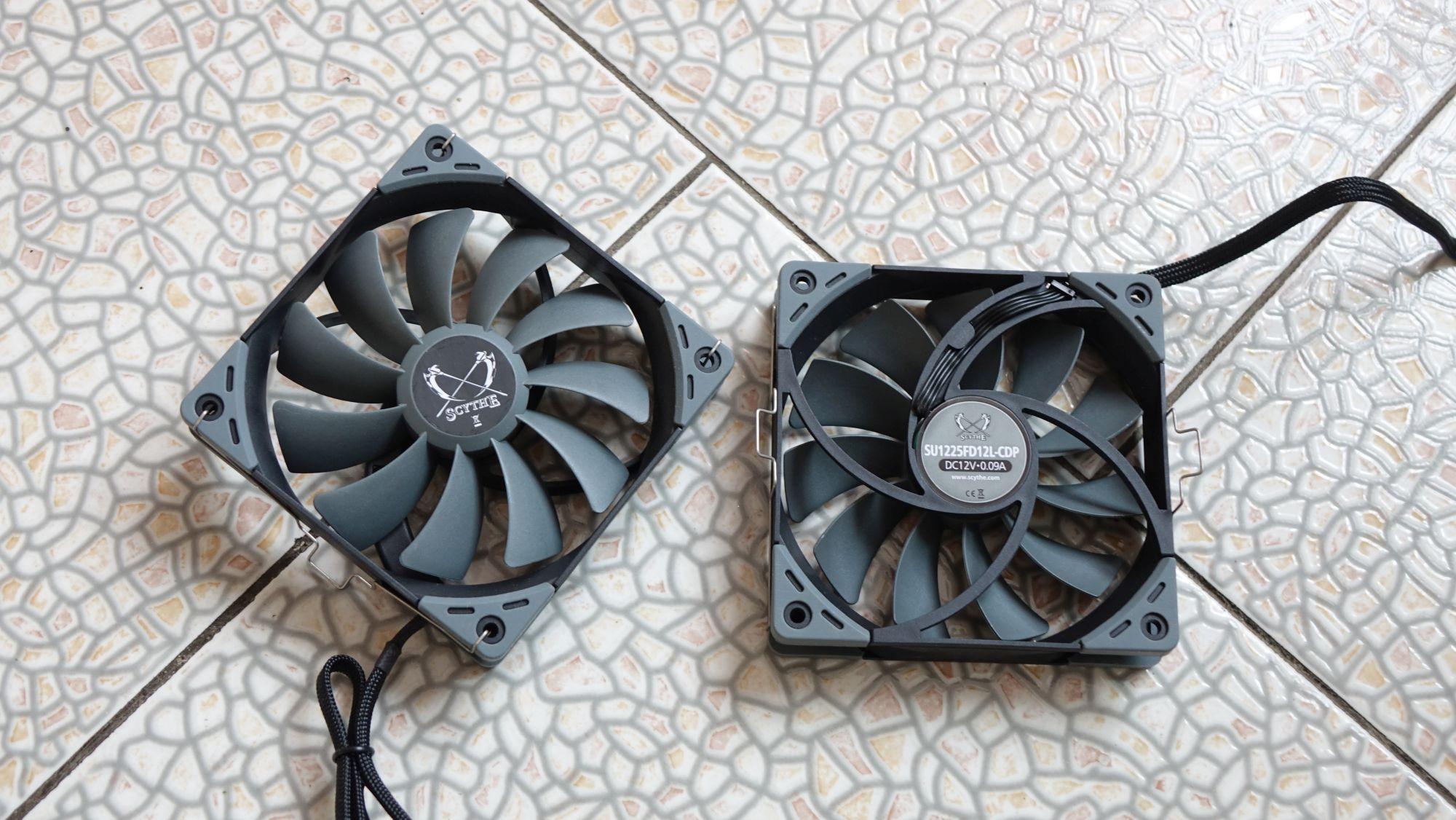 Scythe Ninja 5 вентиляторы
