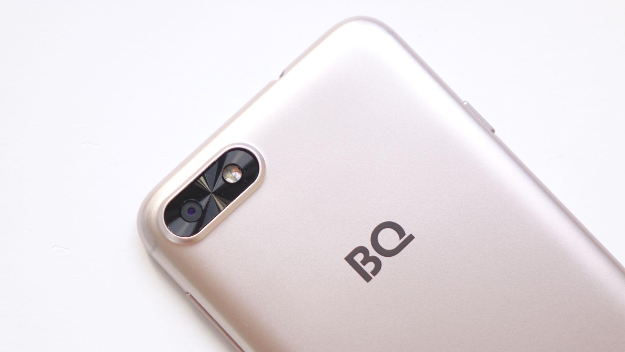 BQ Slim камера