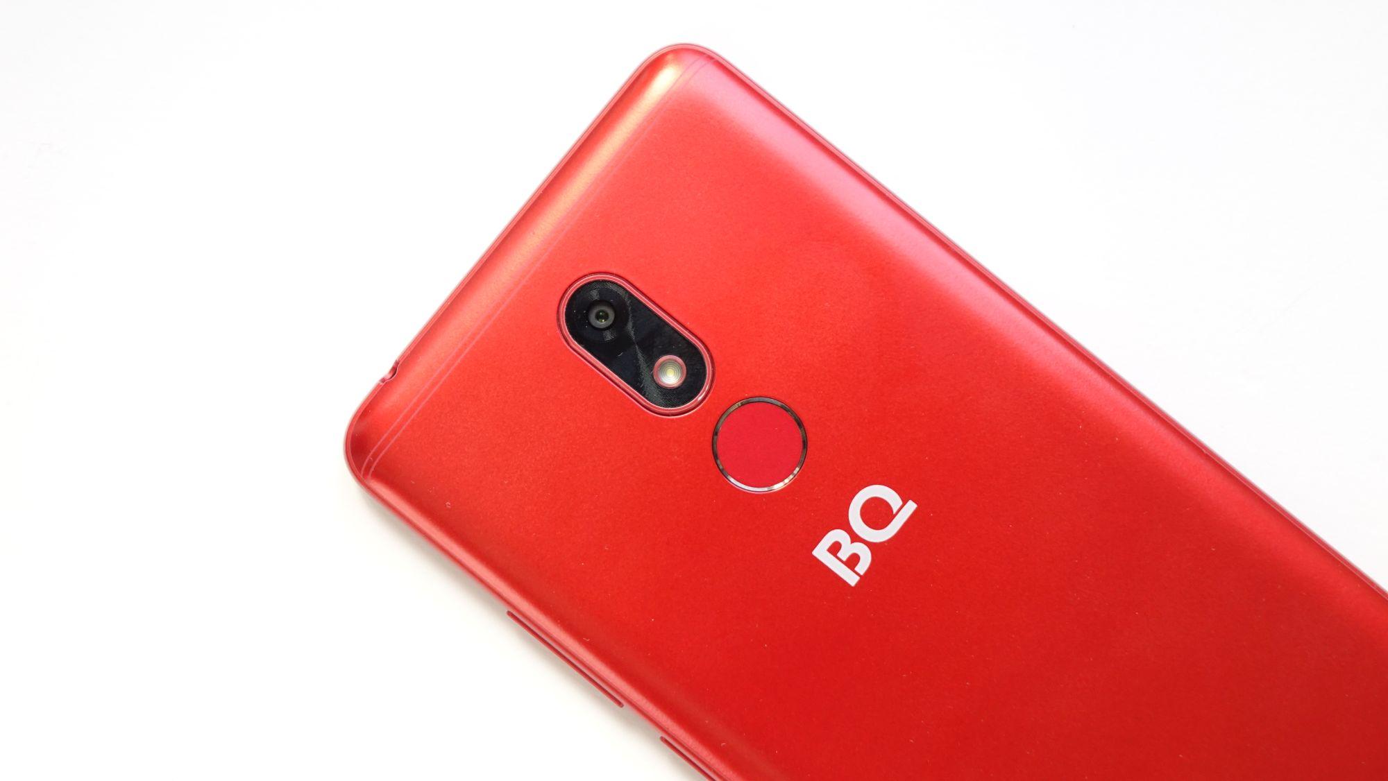 BQ Next Music камера