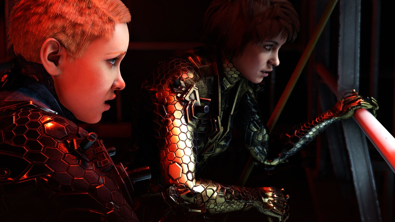 GSA_Wolfenstein Youngblood_sisters_zeppelin
