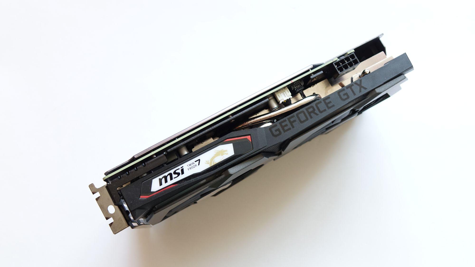 MSI GeForce GTX 1660 Gaming X 6G система охлаждения