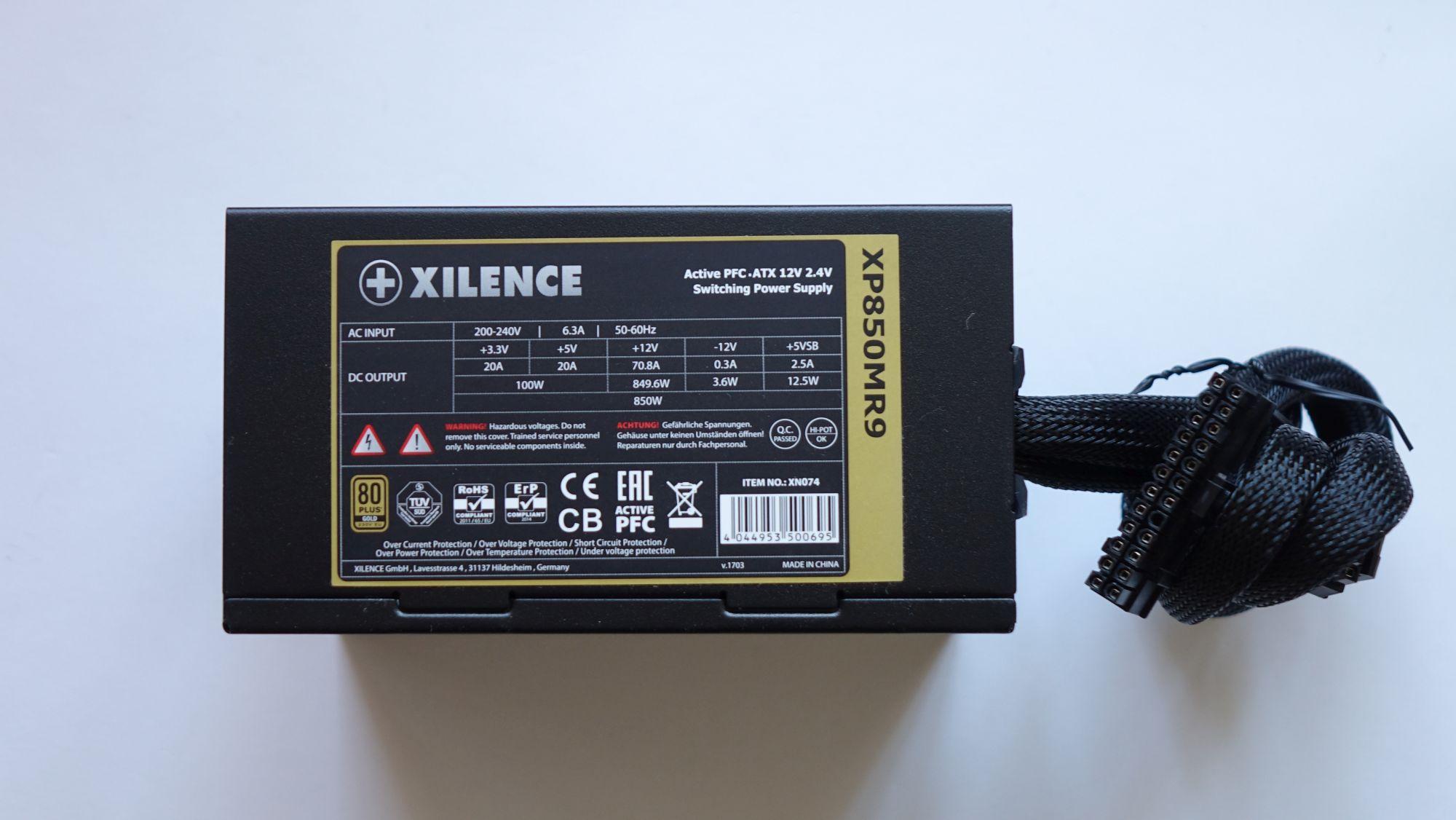 Xilence Performance X 850 Вт наклейка