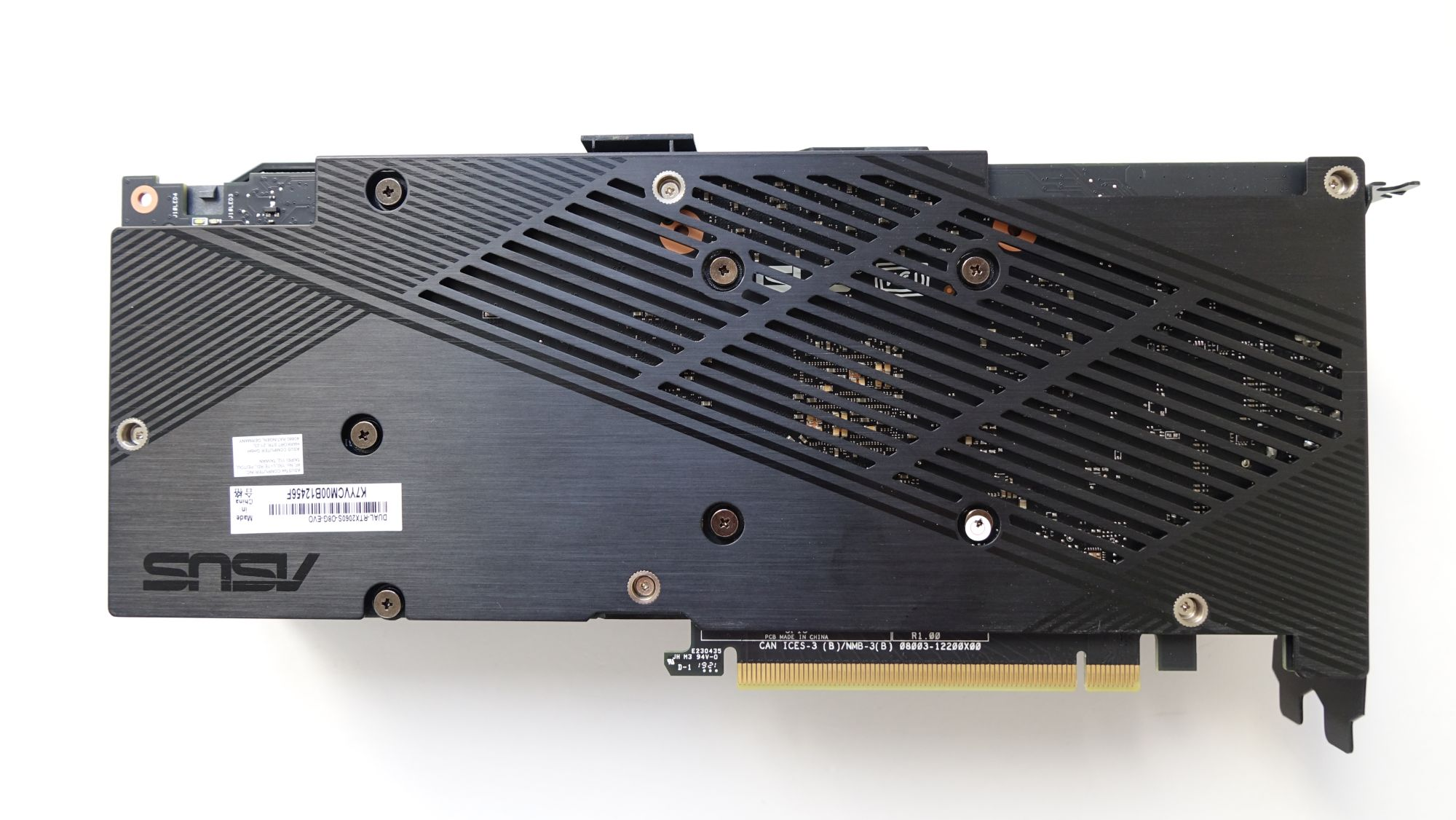 ASUS Dual GeForce RTX 2060 Super Evo пластина