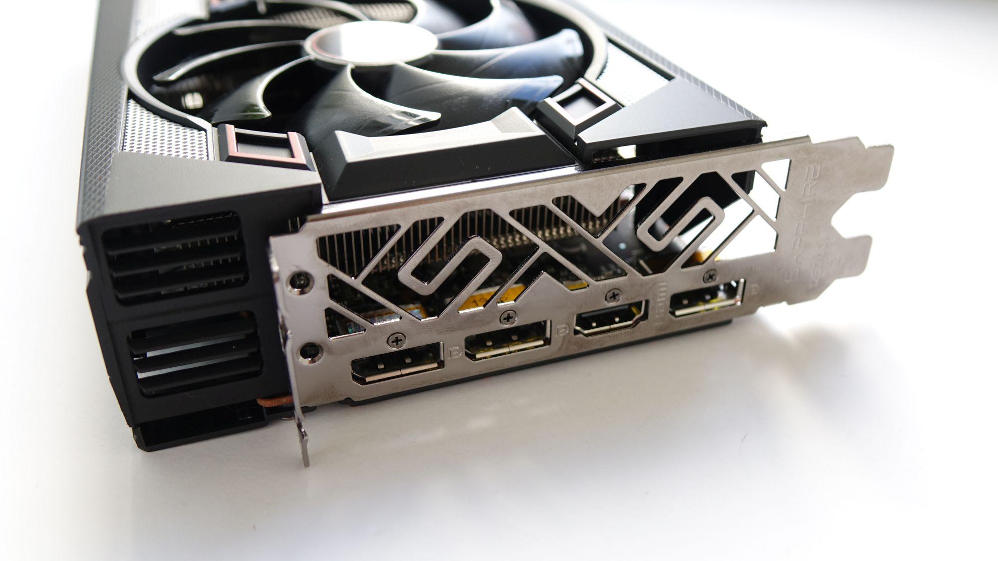 Sapphire Pulse RX 5700 разъемы