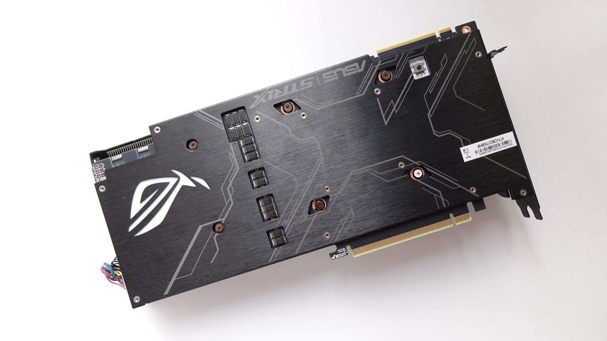 ASUS ROG Strix GeForce RTX 2080 Super силовая пластина