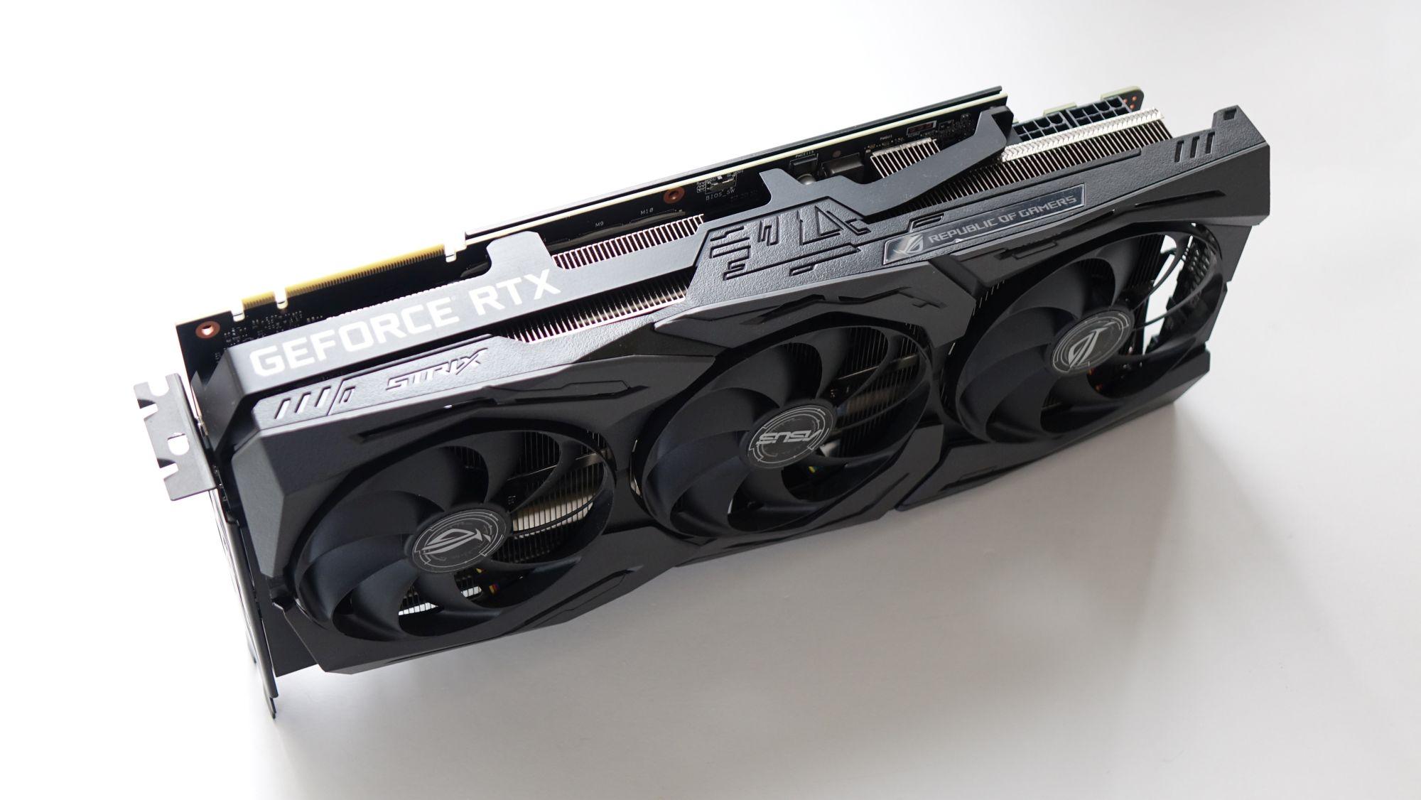 ASUS ROG Strix GeForce RTX 2080 Super hero