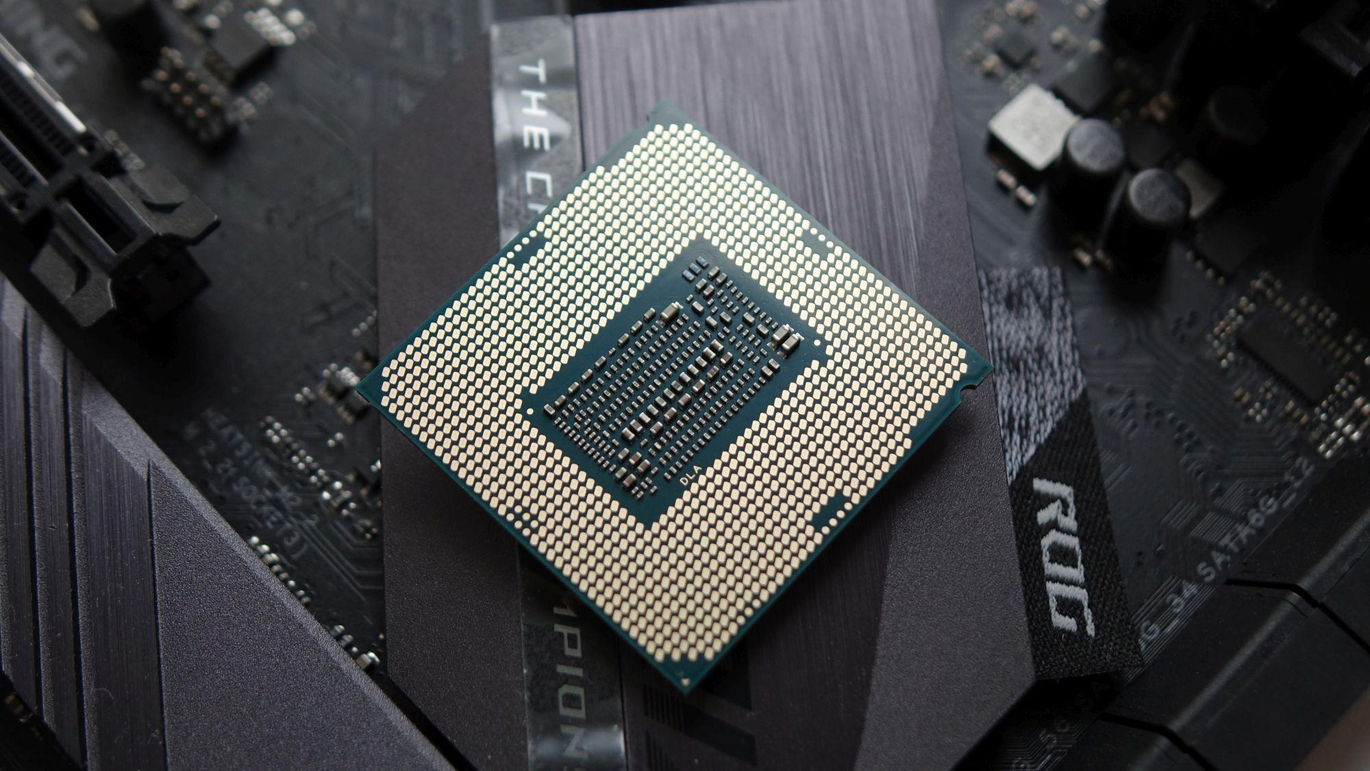 Intel Core i5-9400F контакты