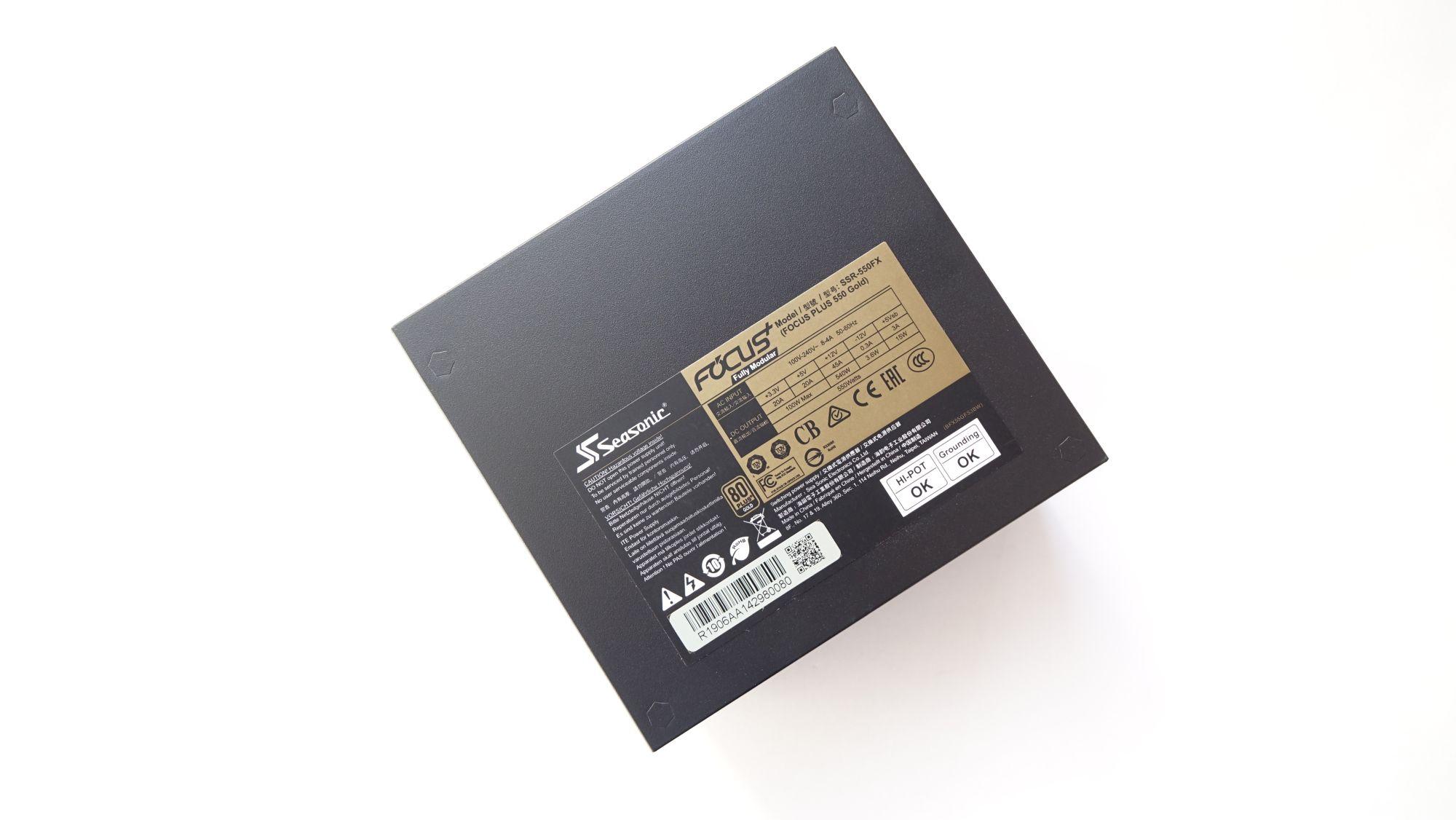 Seasonic Focus Plus Gold 550 Вт