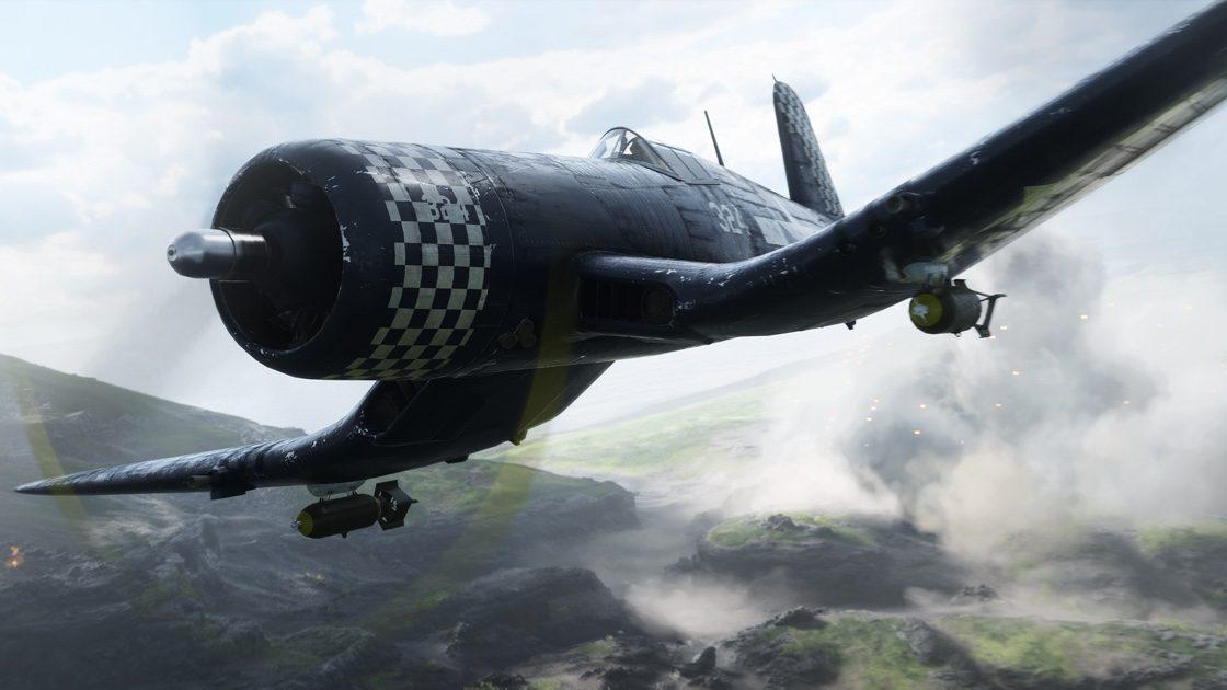 Как были записаны 2 редких самолета времен Второй мировой войны  для Battlefield 5