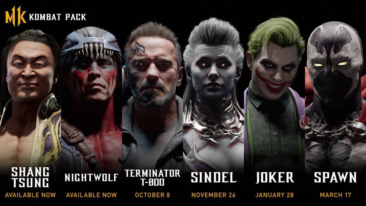 Терминатор Шварценеггер станет бойцом в Mortal Kombat 11