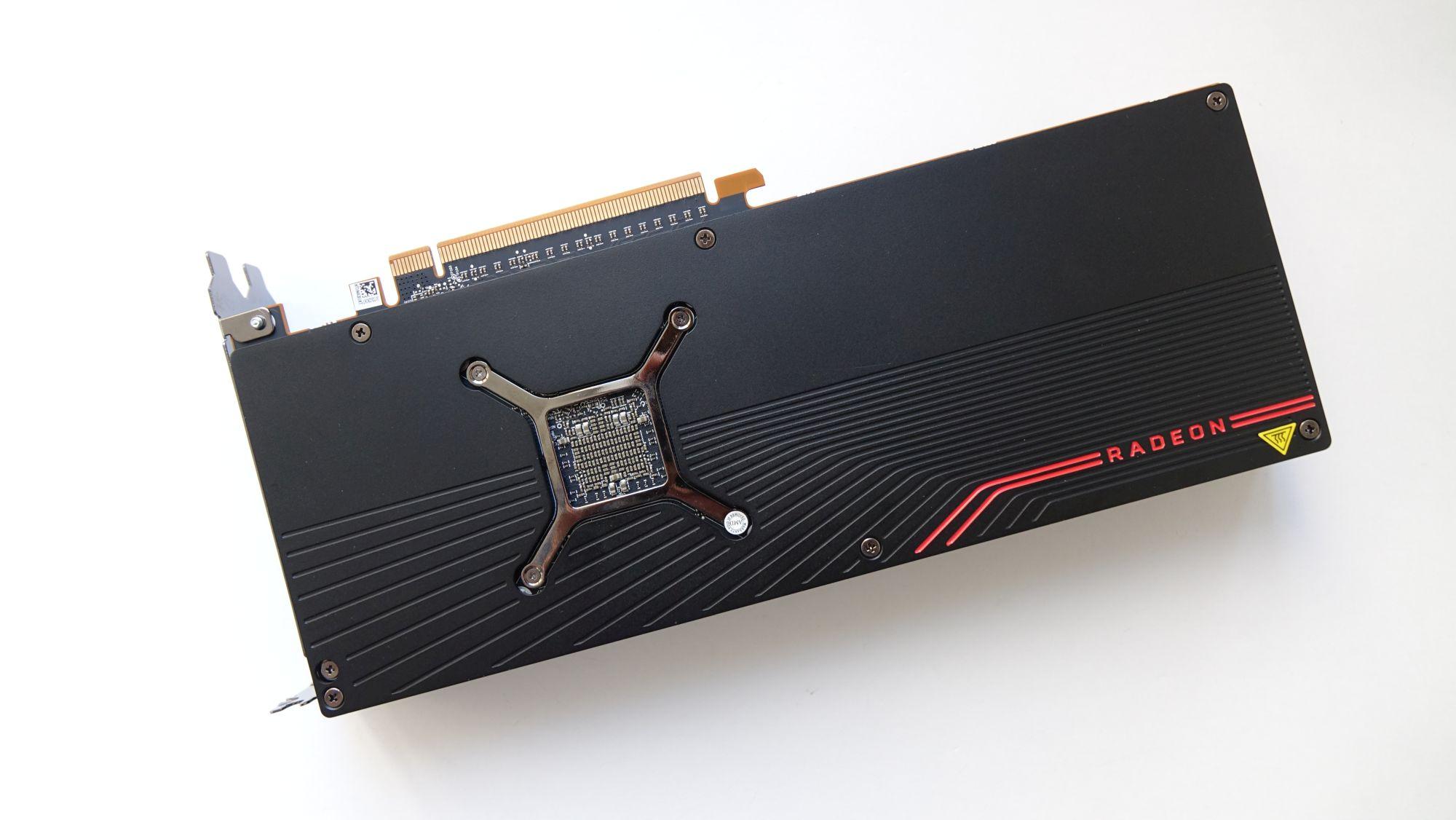 Radeon RX 5700 XT сзади
