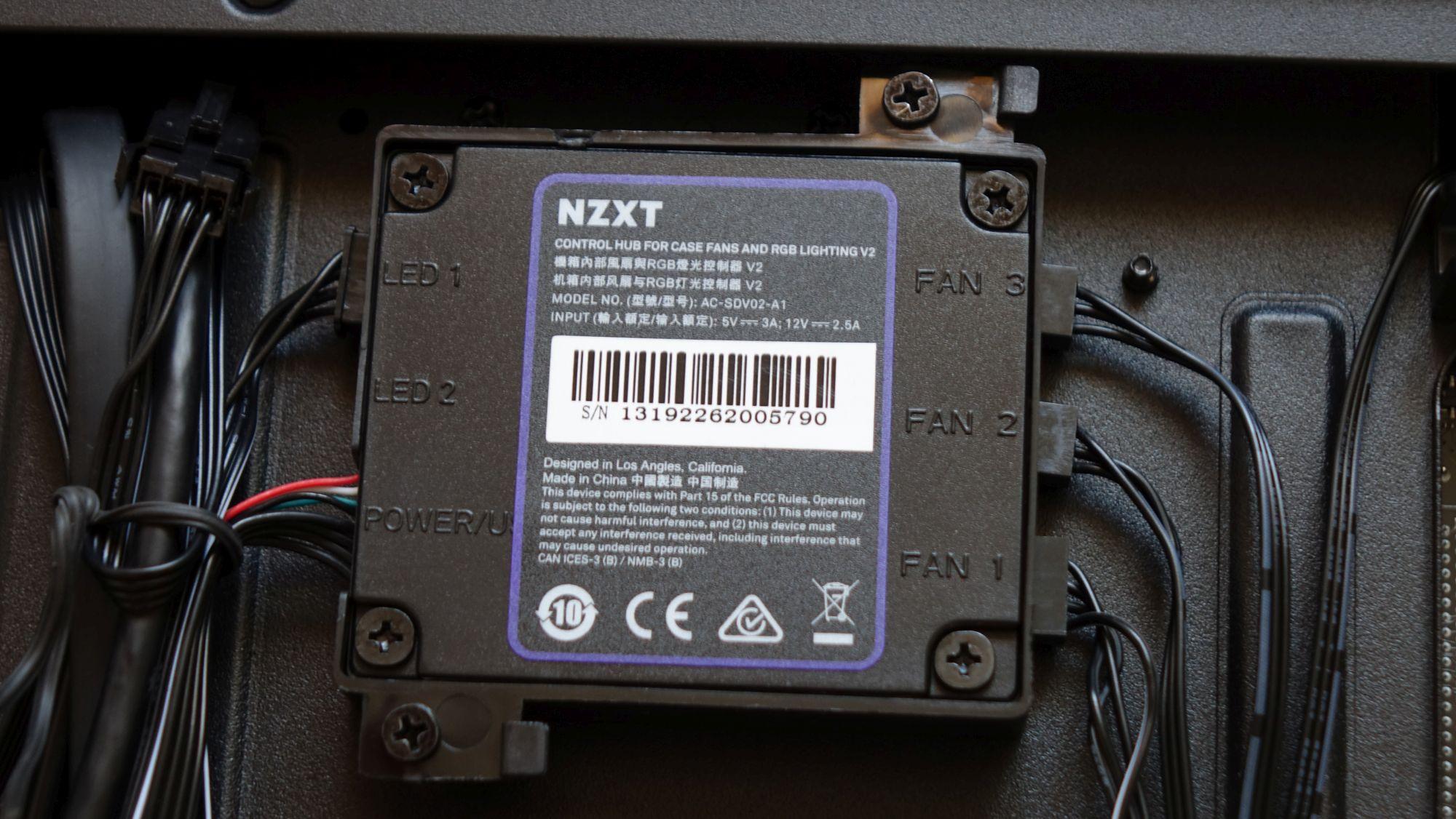 NZXT H510i контроллер