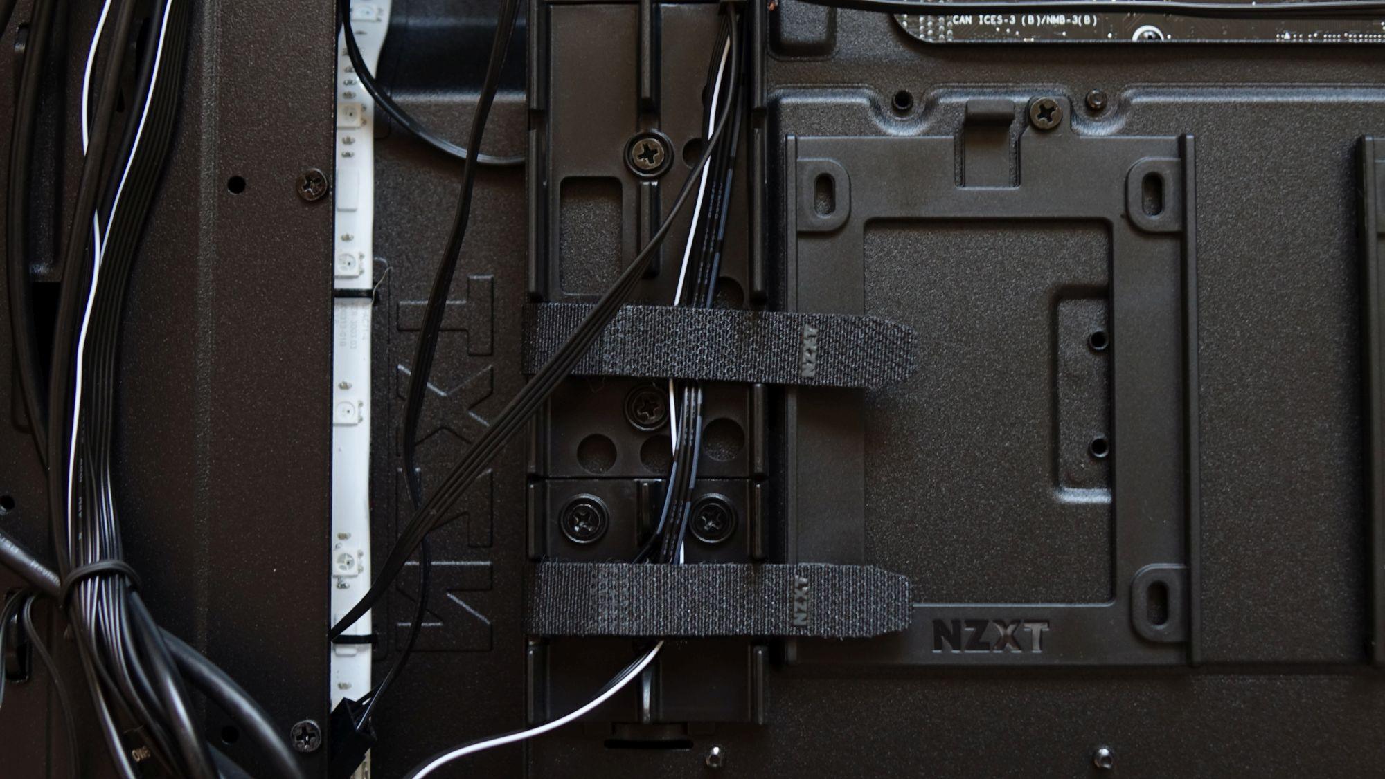 NZXT H510i липучки