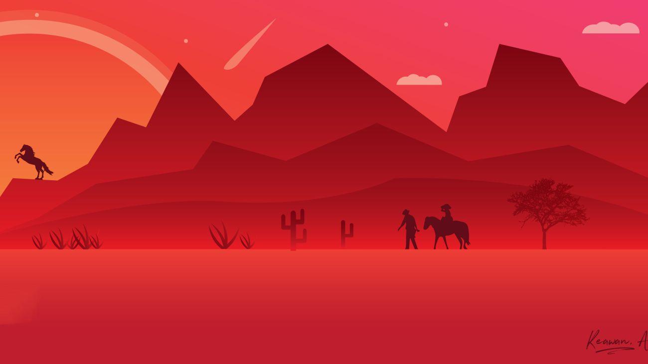 red-dead-redemption-2-minimalist-art-eg