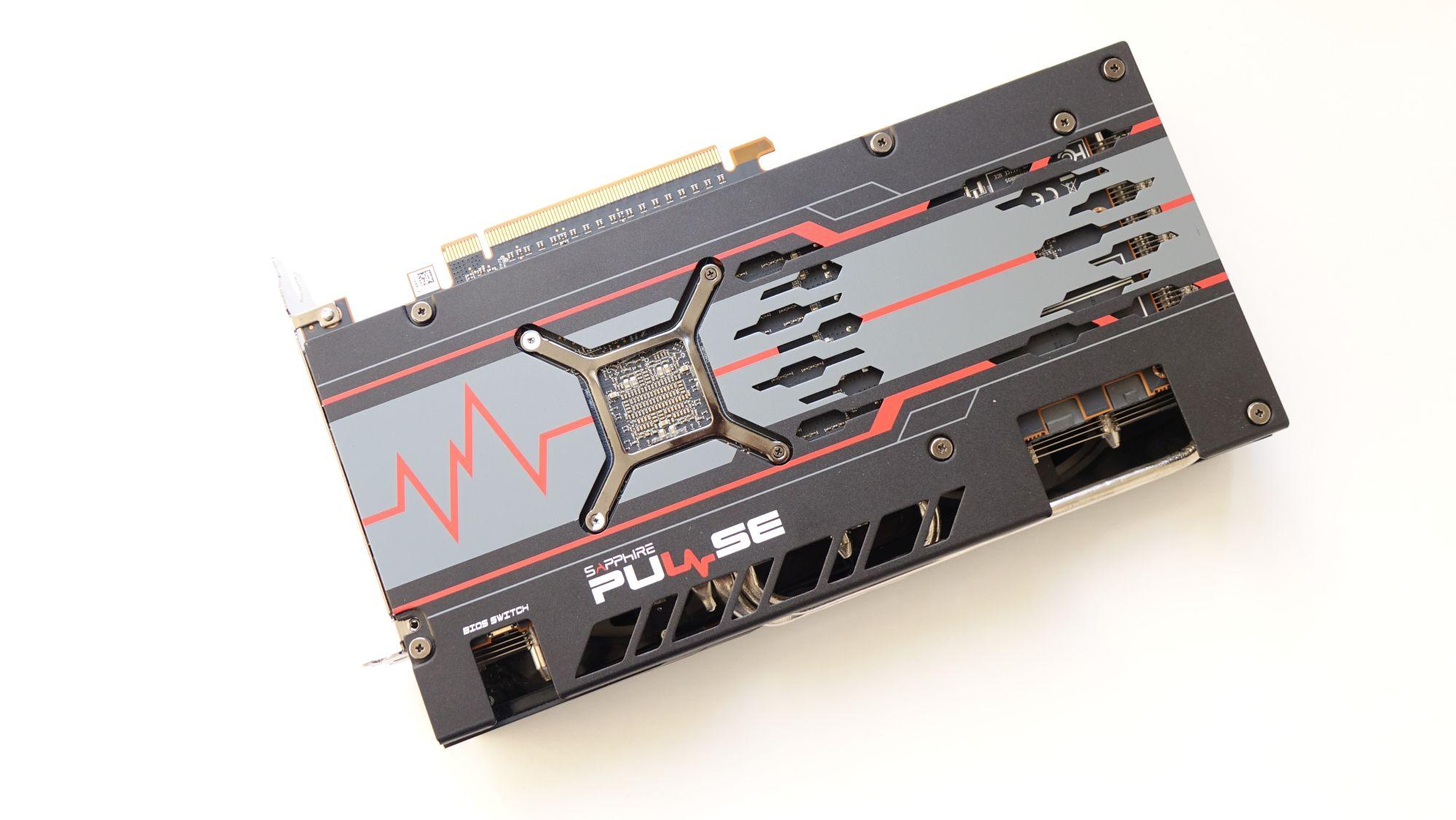 Sapphire Pulse RX 5700 XT бэкплейт