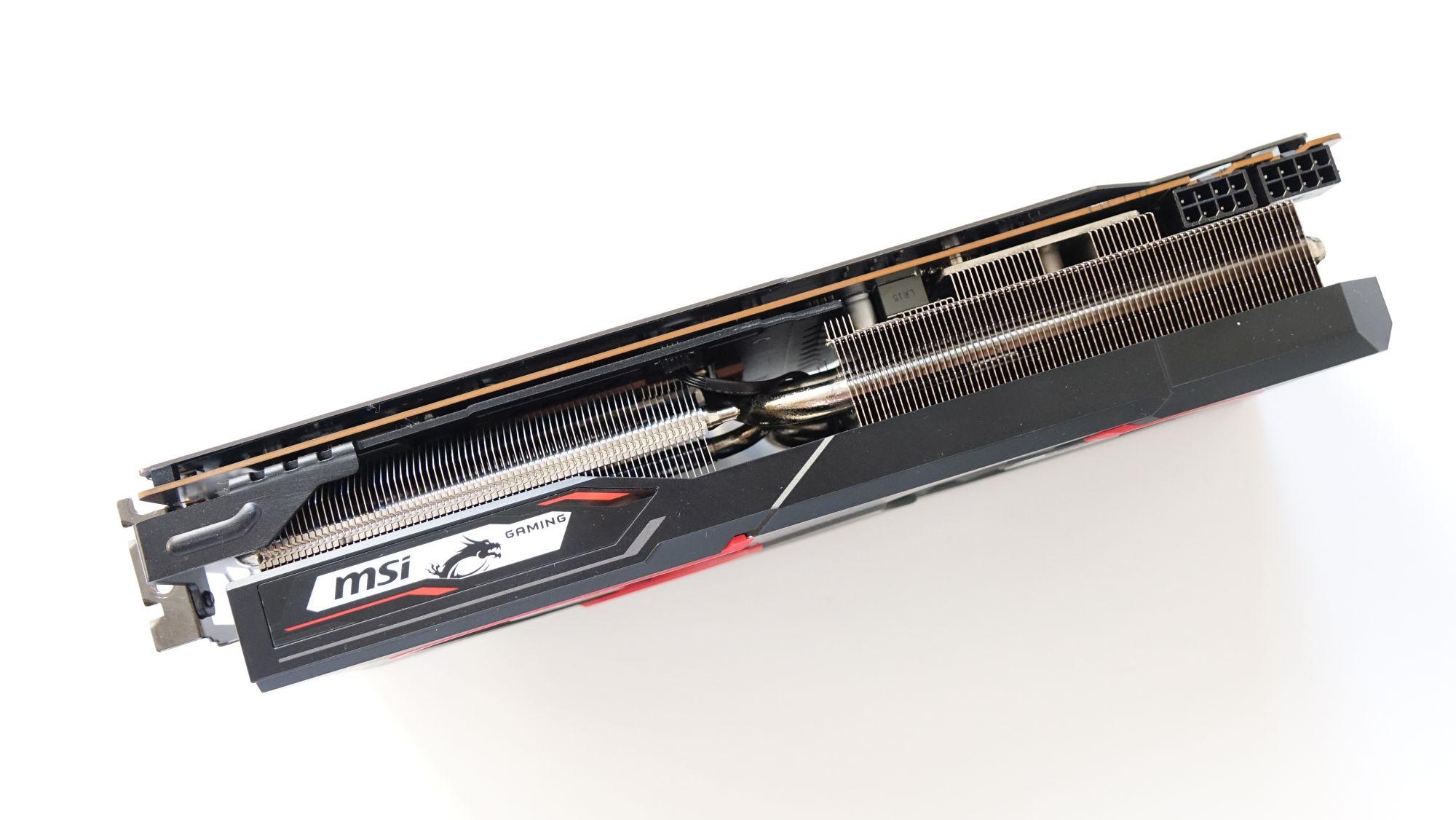 MSI Radeon RX 5700 XT Gaming X радиатор
