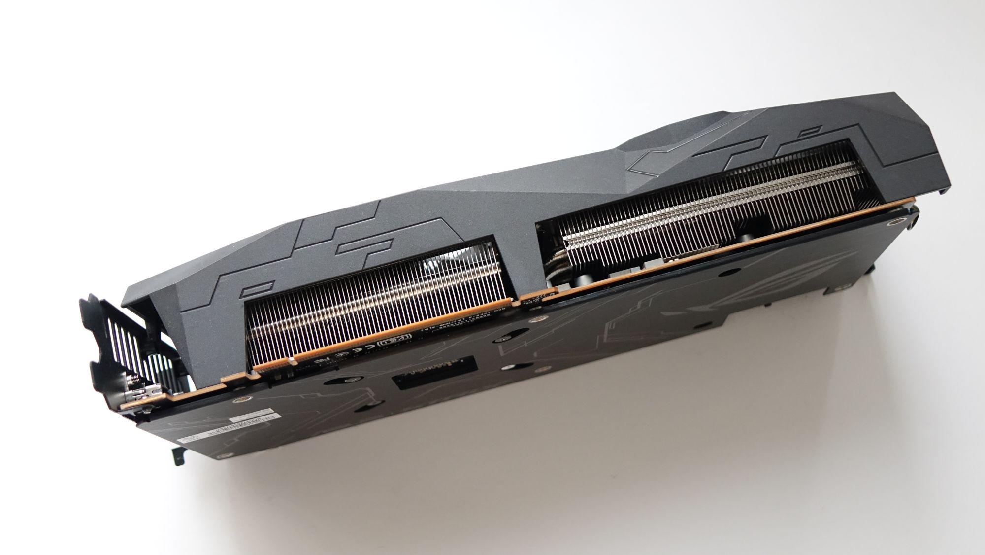 ASUS ROG Strix Radeon RX 5500 XT радиатор