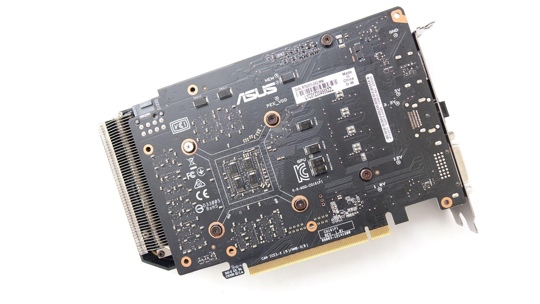 ASUS Dual GeForce RTX 2070 Mini сзади
