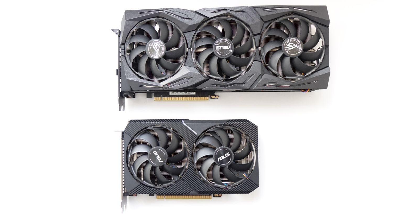 ASUS Dual GeForce RTX 2070 Mini и ASUS ROG Strix GeForce RTX 2080