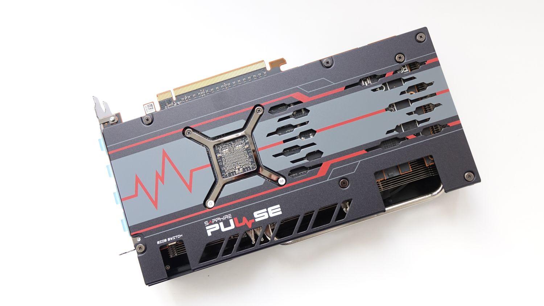 Sapphire Pulse RX 5600 XT бэкплейт