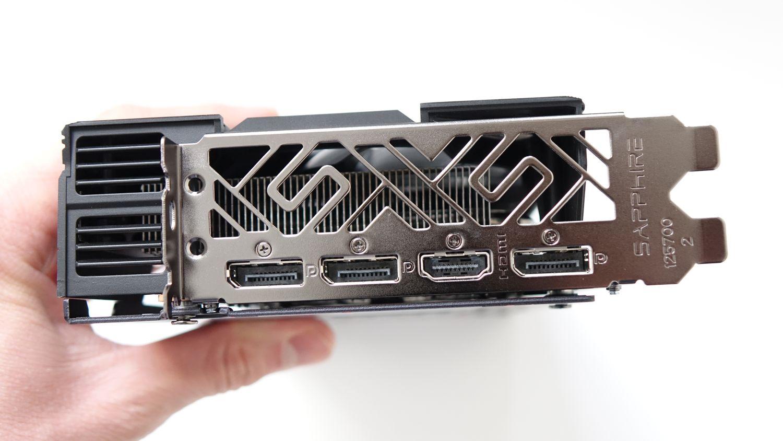 Sapphire Pulse RX 5600 XT разъемы