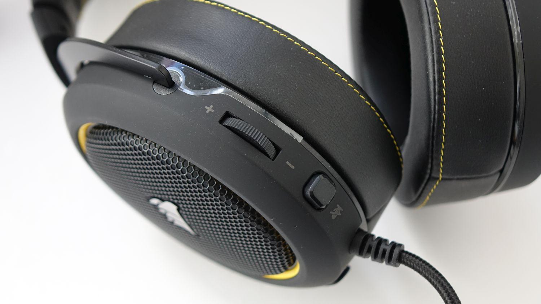 Corsair HS60 Pro Surround регуляторы
