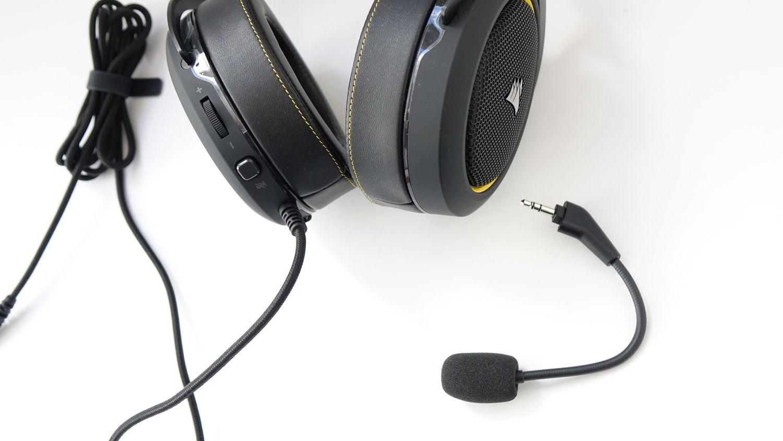 Corsair HS60 Pro Surround микрофон