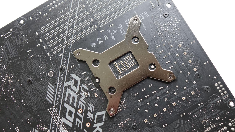 Corsair A500 обратная пластина