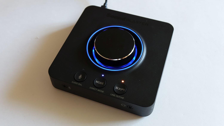 Creative Sound Blaster X3 подсветка