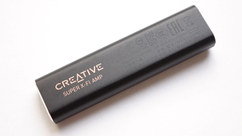 Creative SXFI AMP сзади