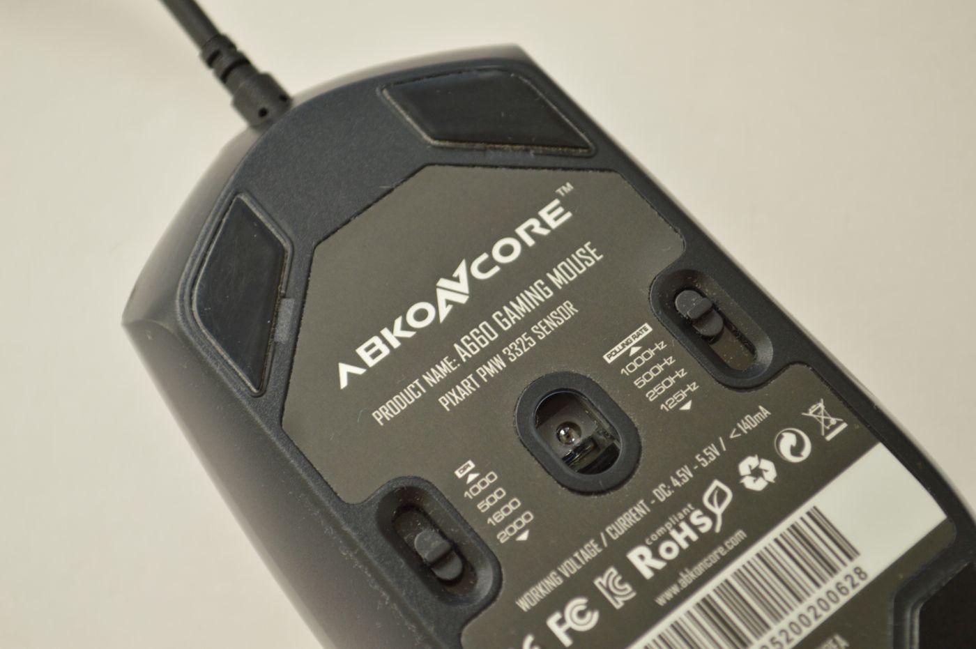 Abkoncore A660 сенсор и кнопки
