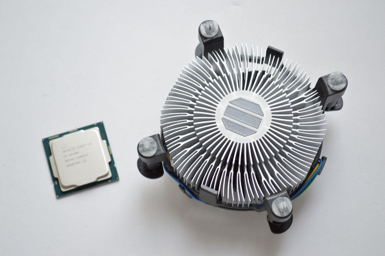 Core i5-10400F кулер